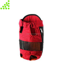 Dog Back Pack Carrier Mesh Pup Pack Soft-sided Outdoor Travel Backpack for Pet