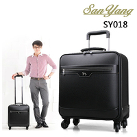New Fashion Big Capacity casual/business travel trolley luggage bag for business traveler