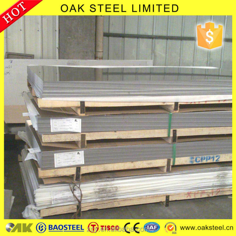 GOOD QUALITY aisi ss430 304 stainless steel plate