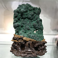 2017 trending products top quality rare natural raw rock and minerals rough malachite specimen
