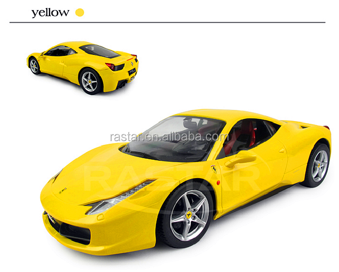 RASTAR 1:14 Ferrari 458 Italia universal rc car toy with rechargeable battery