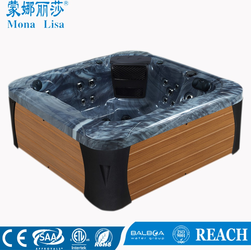 China Supplier New Sex Hot Tub Massage Spa Price For 5 Persons