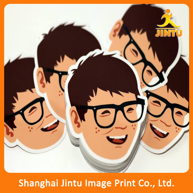 car vinyl stickers, custom stickers, happy face custom stickers