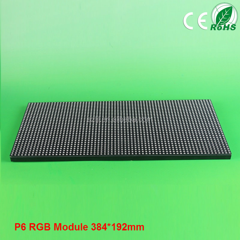 High Definition RGB Full Color indoor P6 LED Module P6