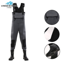 Complete production line Funny slogan neoprene waders canada