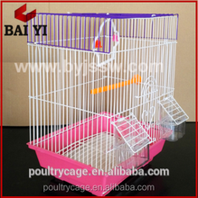 Iron Hanging Bird Cage / House With Outside Feeder ( Low Price )