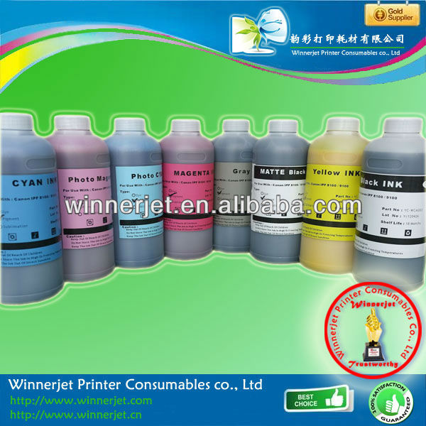 Printing Ink For Canon Pfi701 For Outdoor Advertising