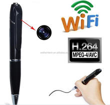 HD WiFi Spy Pen Hidden Camera Micro USB iPhone iPad Android Recording Digital Surveillance Gadget Security Wireless IP Camera