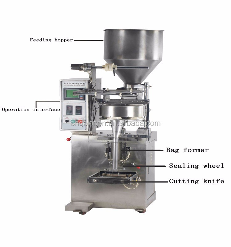 CE low price automatic high speed snacks /nuts /sugar /salt /dry food pouch packing machine