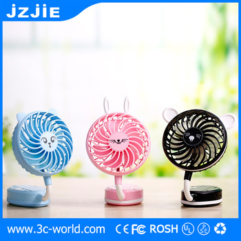 Crazy price Plastic 360 Rotate Portable Mini Usb Fan for iphone8