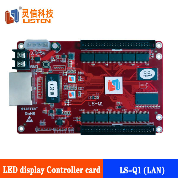 LISTEN LS-Q1 can cascade RGB led display controller for xxx video sex led screen
