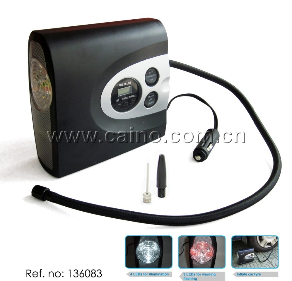 Multi-function Car Air Compressor Tire Inflator