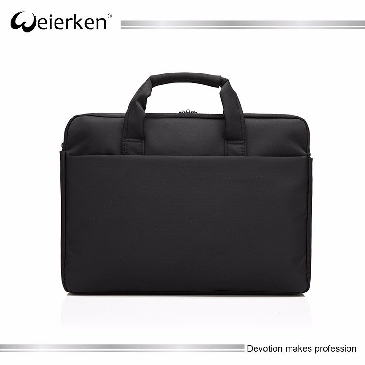 17 15.6 inch custom promotion stylish aluminum laptop case briefcase