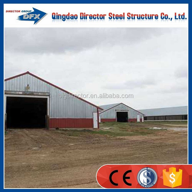 steel structure broiler breeding chicken poultry houses