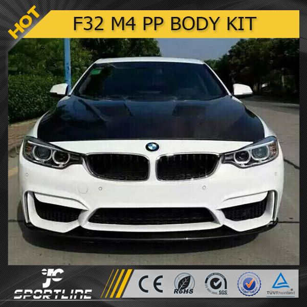 Jc auto parts f32 m4 style pp body kit for bmw 4 series for Jc motors used cars