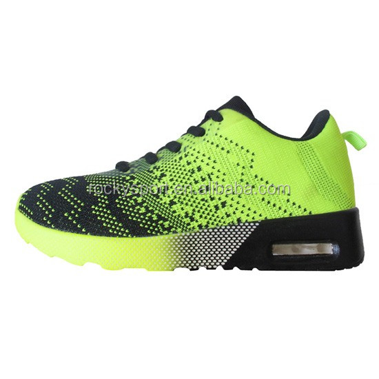 New arrival kid shoes with flyknit upper,children sports shoes,children shoes 2016