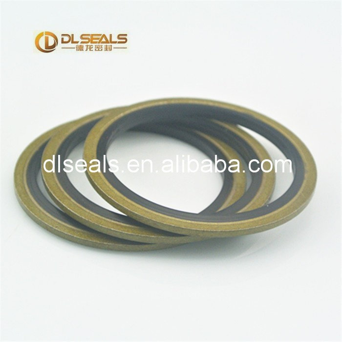 The pipe joint ED washer bonded seal for pump