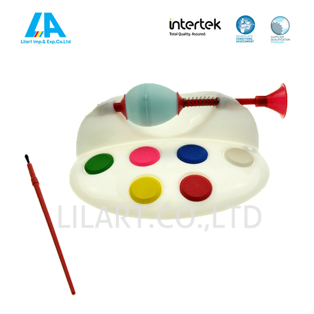 Plastic egg painting tools for kids DIY drawing toys