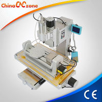 New design HY-3040 5 axis mini CNC wood router China manufacturer