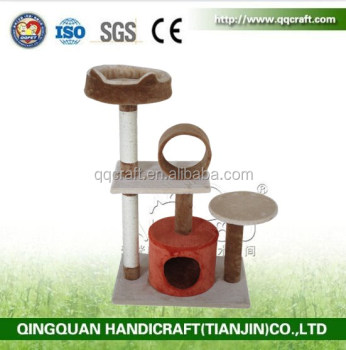 BSCI QQ Catree factory good price sell new design cat tree climber