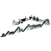 BEION PET washing recycling line with high speed plastic friction washer