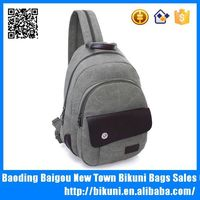 Latest school bag women elegant small canvas backpack China factory