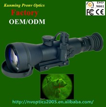 night vision scope with 4.4x magnification
