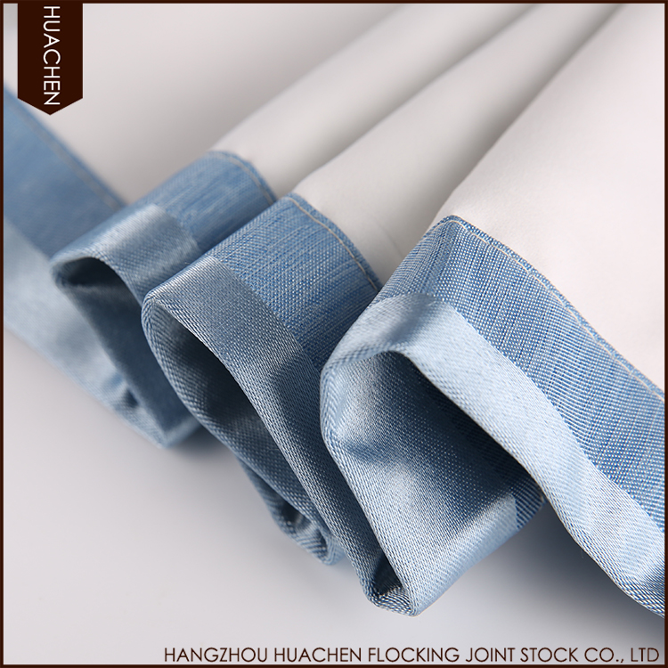 New design hot selling anti-static supply thermal curtain fabric