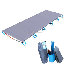 camping mat ultralight Sturdy Comfortable Portable Single Folding Camp Bed Cot Sleeping Outdoor With Aluminium Frame