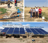 10HP MPPT Inverter complete solar powered water pumping system JNP7K5H In Turkey