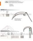 Flexible Blade Laryngoscope Set / McCoy Blade Laryngoscope / Fiber Optic Laryngoscope
