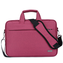 Custom Fashion 15 Inch Nylon Waterproof Computer Messenger Laptop Bag With Shockproof Layer