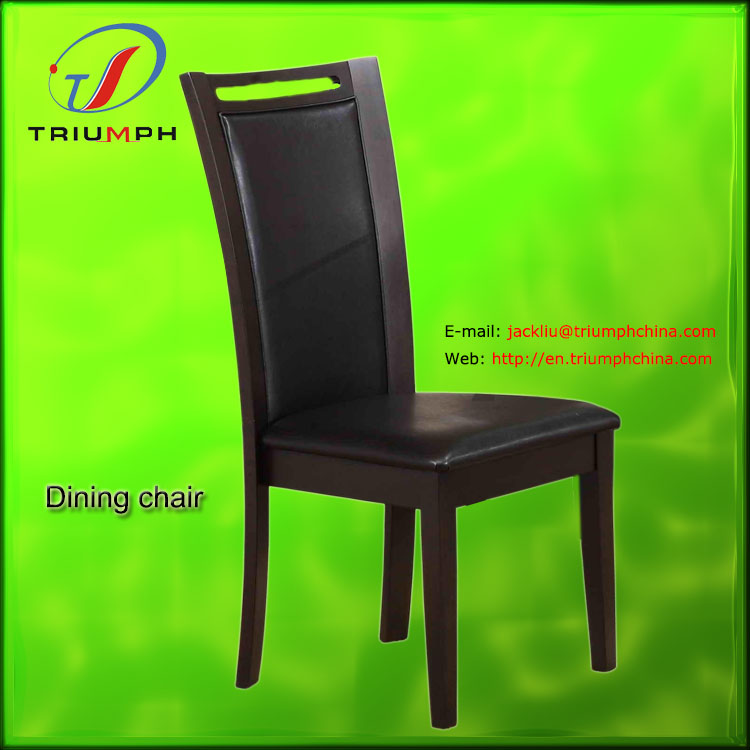 PU leather+(ANSI)foam wooden commode chair