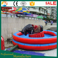 Manufacturer ! red mechanical bull rides customized