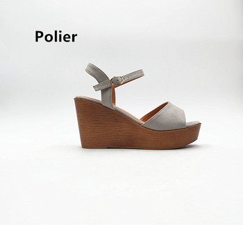 Classic style Women Heels Comfort Shoes Wholesale Ladies High Heel Wedge Fashionable sandals