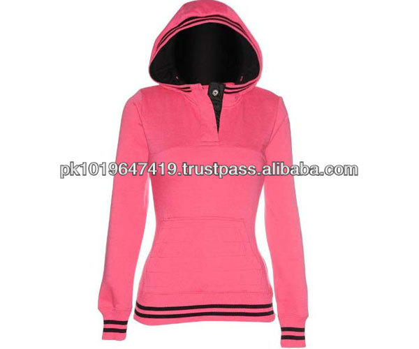 custom women wholesale plain hoodies