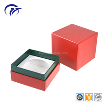 Merry christmas chinese supplier printed rigid cardboard candle jars packaging boxes with lid