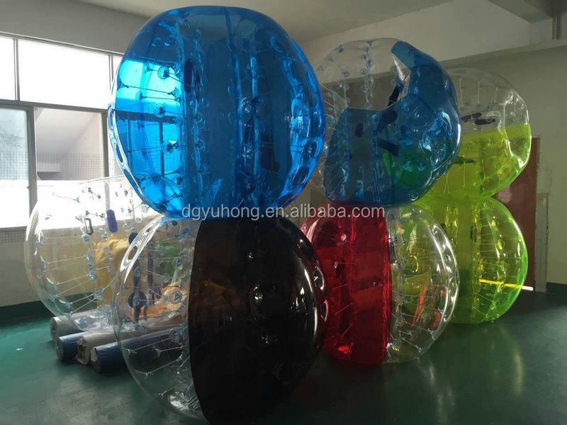 1.5m TPU human inflatable bumper bubble ball for adult