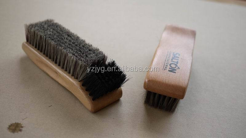 2015 hot selling FSC shoe cleaning brush shoe shine brush