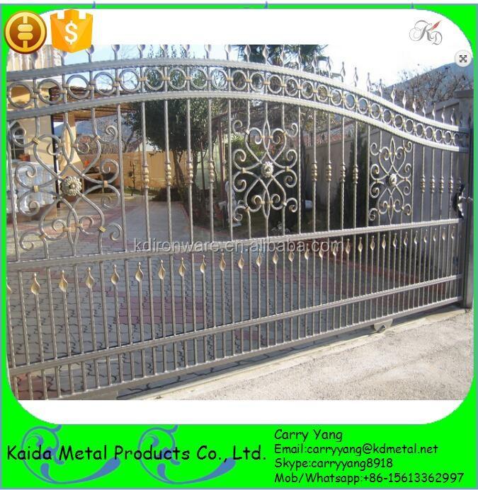 Fencing Trellis Gates Type Wrought Iron Sliding Main