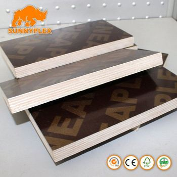 China film faced plywood supplier SUNNYPLEX