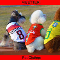 015 World Cup nice dog clothes Outdoor dog clothes wholesale