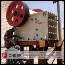 Limestone hard stone pe series stone jaw crusher customer liked