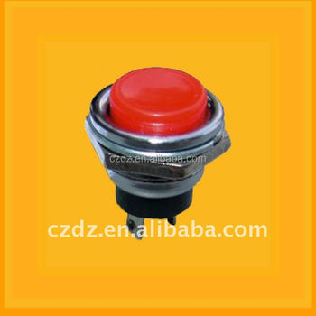 chzjcz/Baby carrier switch ,25mm black surface Circle lighted vandal proof Baby carrier switch