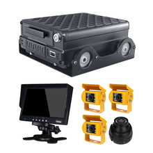 4 channel 1080P AHD 4g 3g gps mobile dvr for vehicles