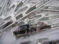 European market plastic chrome car emblems