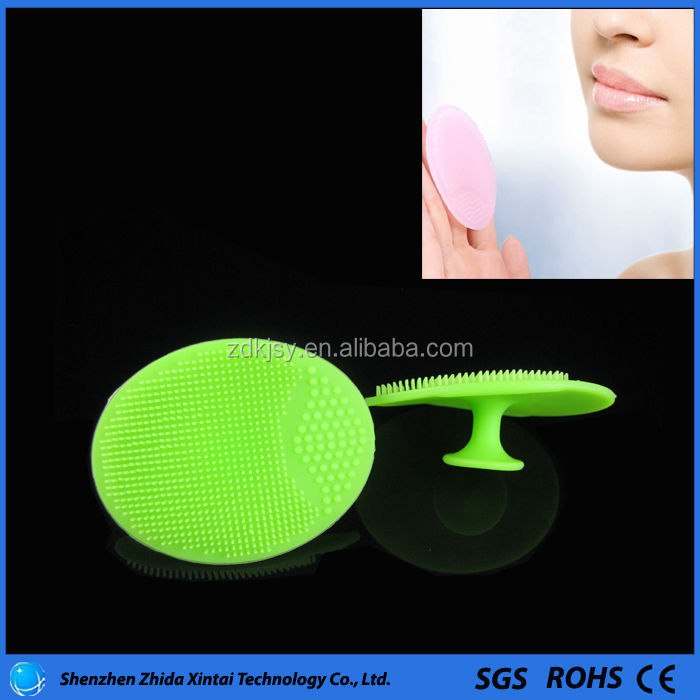 private label cleaning brush face body cleansing scrub gel