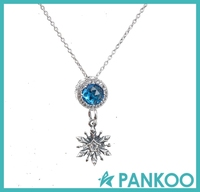2016 hot sale fashion necklace jewelry wholesale,925 sterling silver pendant necklace,silver elegant necklace for women