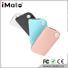 Newest ultrathin 8000mah power bank with pink and green color available