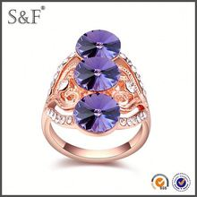 YIWU FACTORY!! Newest Style Crystal hedgehog ring